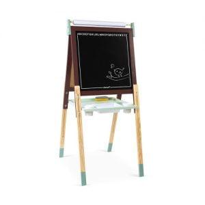 Janod Burgund / Green Easel & Blackboard