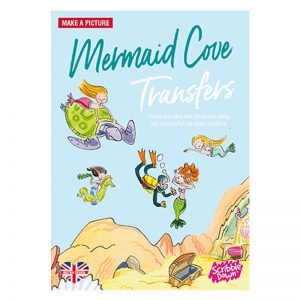 Scribble Down Transfers – Mermaid Cove