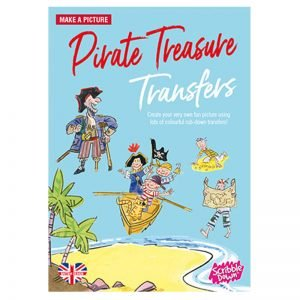 Scribble Down Transfers – Pirate Treasure