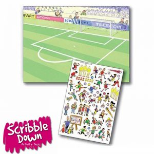 Scribble Down Transfers – Football Training
