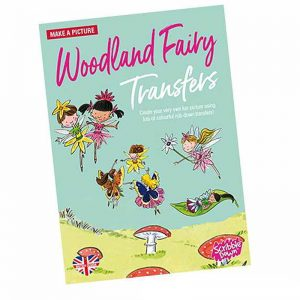 Scribble Down Transfers – Woodland Fairies