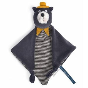 Moulin Roty Les Moustaches Alphonse the Cat Comforter
