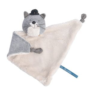 Moulin Roty Les Moustaches Fernand the Cat Comforter