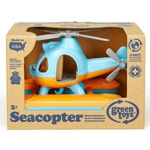 Green Toys Seacopter Orange & Blue