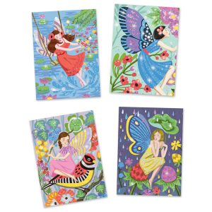 Djeco Glitter Boards The Gentle Life of Fairies