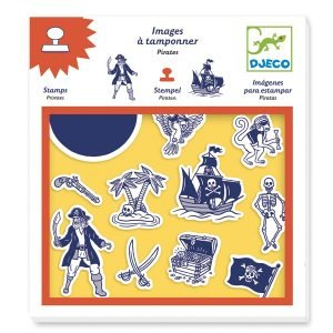 Djeco Pirate Stamps