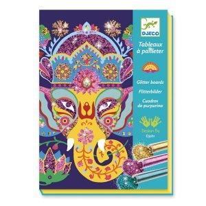Djeco Glitter Boards Animals