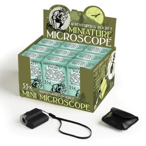 House Of Marbles Adventurers Pocket Miniature Microscope