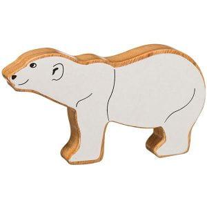 Lanka Kade Wooden Animals – Polar Bear