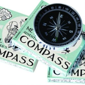 House Of Marbles Adventurers Metal Compass
