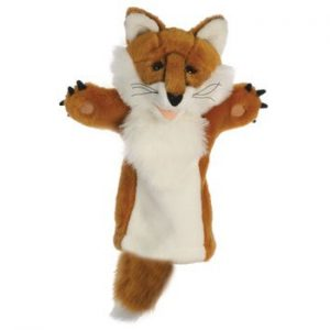 The Puppet Company Fox Long Sleeved Puppet