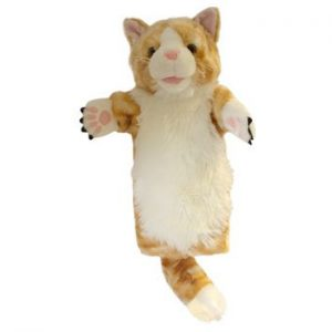 The Puppet Company Ginger Cat Long Sleeved Puppet