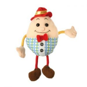 The Puppet Company Humpty Dumpty Finger Puppet