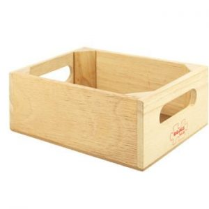 Bigjigs Wooden Food Crate