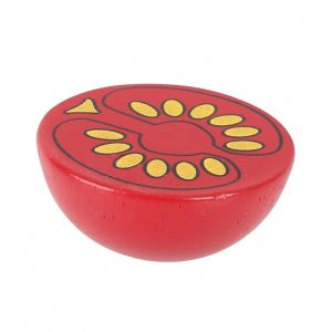 Bigjigs Wooden Halved Tomato Play Food