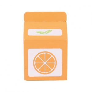 Bigjigs Wooden Orange Juice Carton Play Food