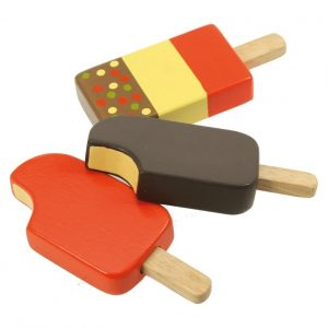 Bigjigs Wooden Chocolate Ice Lolly Play Food