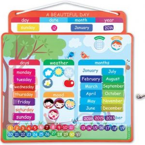 Janod Beautiful Day Magnetic Calendar