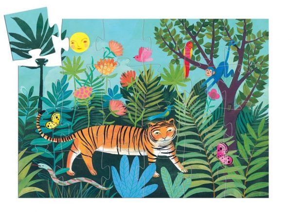 Djeco Tigers Walk Puzzle