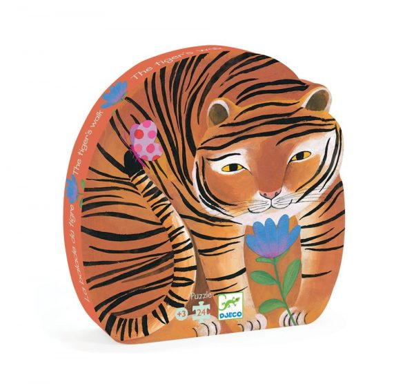Djeco Tigers Walk Puzzle Packaging