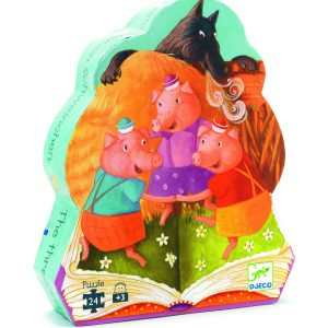 Djeco Three Little Pigs Jigsaw Puzzle