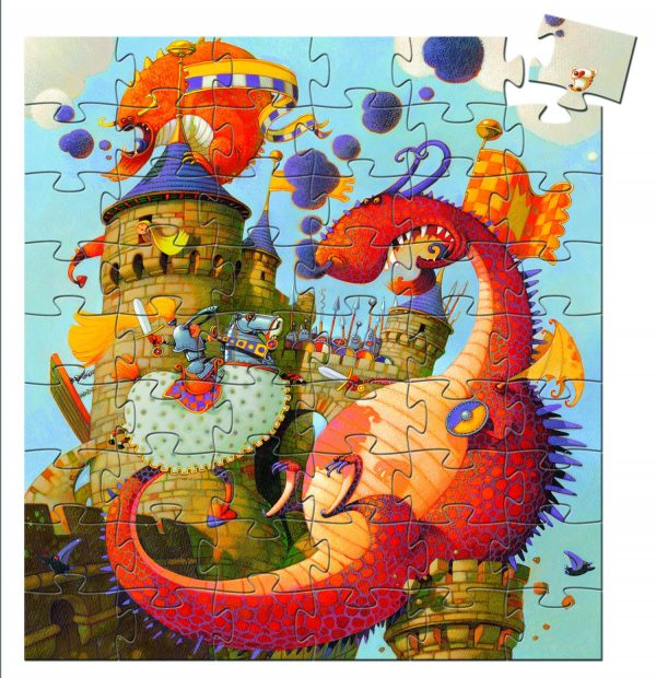 knight and dragon puzzle 1