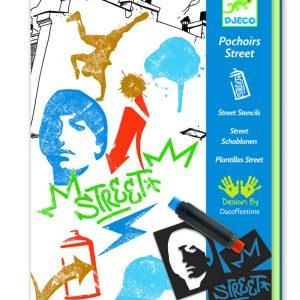 Djeco Street Stencils