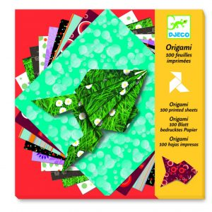 Djeco Origami Papers 100 Printed Sheets
