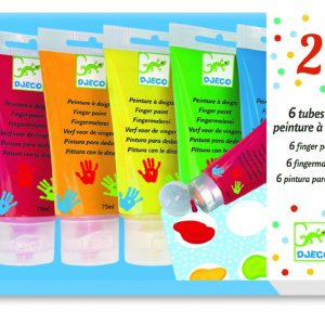 Djeco Finger Painting 6 Tubes