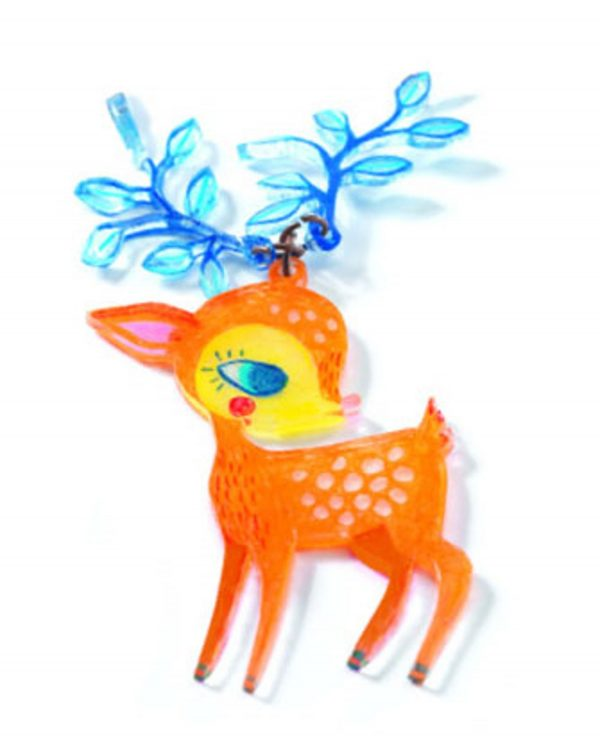 Djeco Magic the Fawn and the Bird Necklace