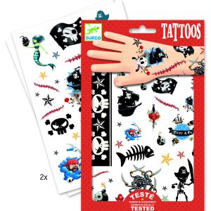 Djeco Pirate Tattoos
