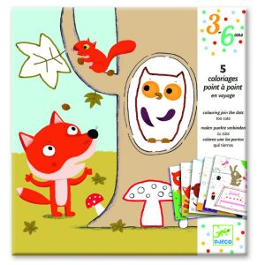 Djeco Colouring Join The Dots Too Cute