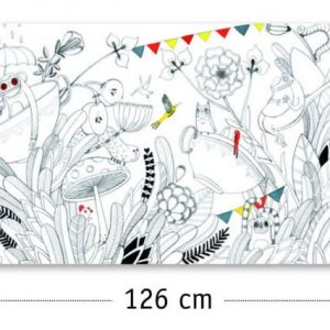 Djeco Colour In Frieze Butterfly Ball