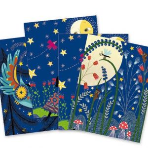 Djeco Scratch Cards Full Moon