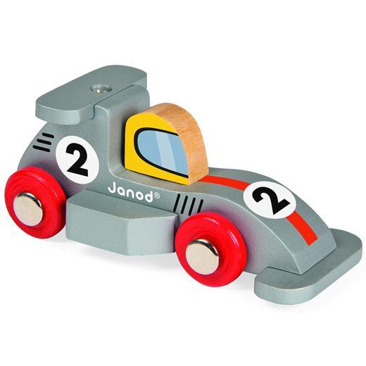 formula 1 car silver