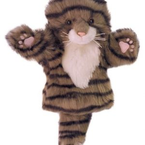 The Puppet Company Tabby Cat Short Sleeved Puppet