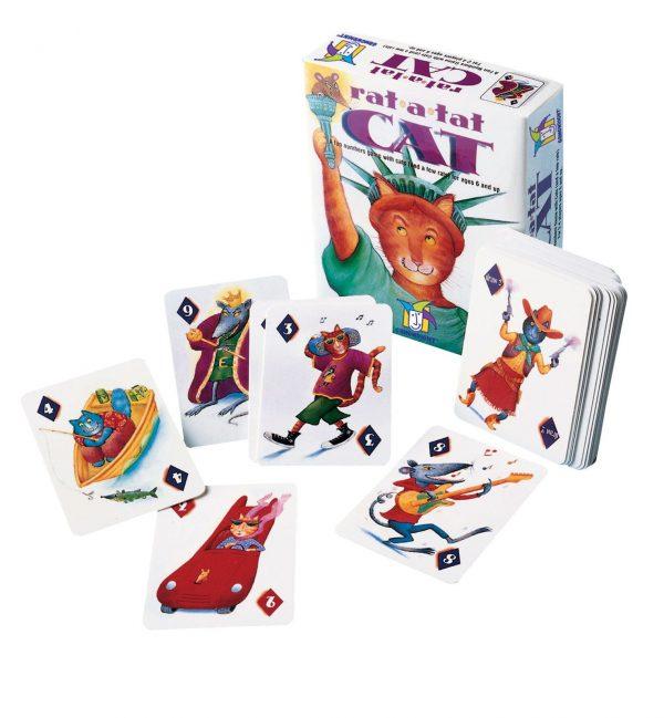 rat a tat cat card game contents