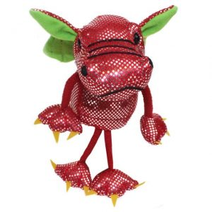 The Puppet Company Red Dragon Finger Puppet