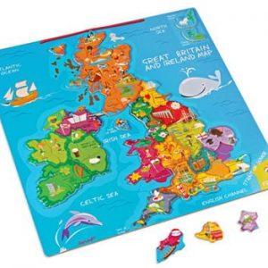 Janod Magnetic UK Map