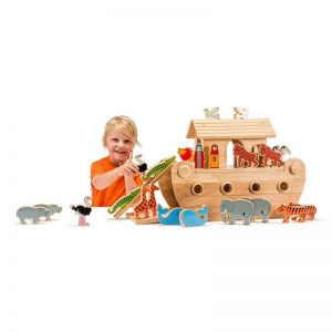 Lanka Kade Deluxe Natural Noah's Ark with Colourful Characters