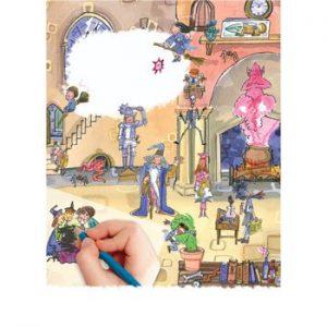 Scribble Down Transfers – School of Magic