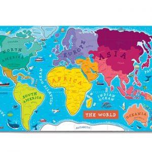 Janod Magnetic World Map