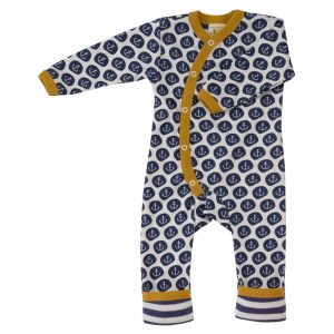 Pigeon Organics Nautical Romper