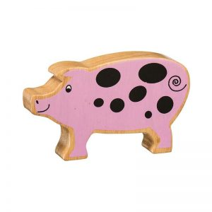 Lanka Kade Wooden Animals – Pig
