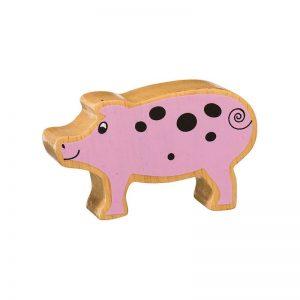 Lanka Kade Wooden Animals – Piglet