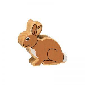 Lanka Kade Wooden Animals – Rabbit