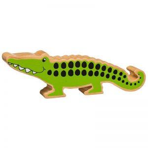 Lanka Kade Wooden Animals – Crocodile