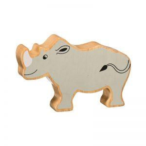 Lanka Kade Wooden Animals – Rhino