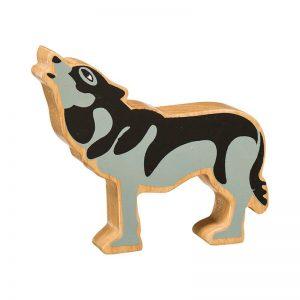 Lanka Kade Wooden Animals – Wolf