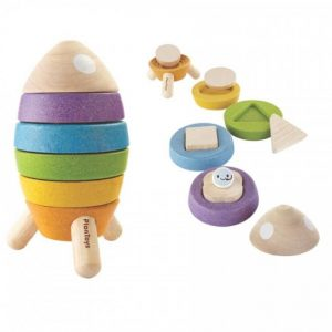 Plan Toys Stacking Rocket